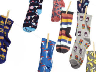 Bill Young's sock collection